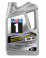 Mobil 1 Advanced Full Synthetic 0W-40 4.83L